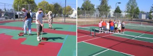 Hackleman Pickleball Courts Phase 1