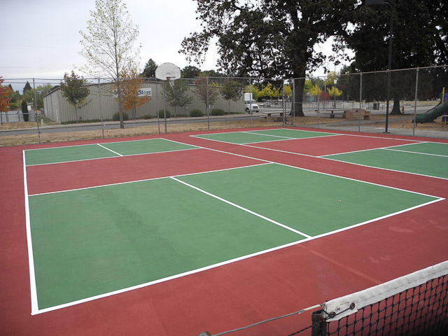 Hackleman Pickleball Courts Phase 2