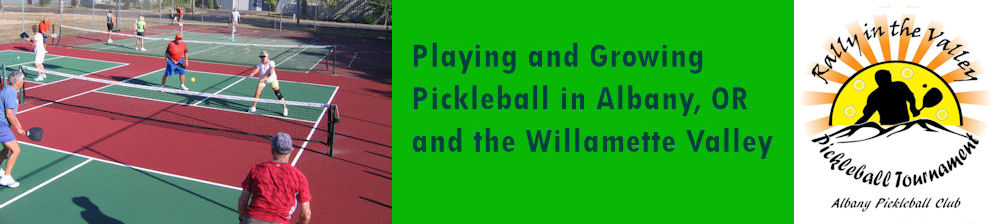 Albany Oregon Pickleball